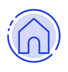 Home instagram interface blue dotted line line vector