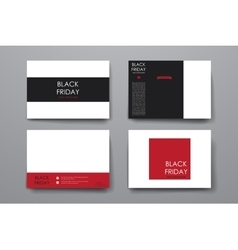 Set of modern design banner template in sale style vector