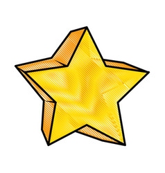 star icon image vector image