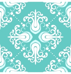 Vintage pattern with damask motifs vector