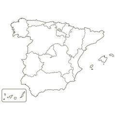 Spain vector image
