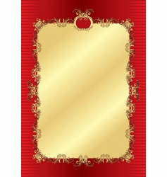 background gold vector image vector image