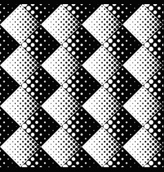 circle pattern background - monochrome abstract vector image