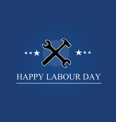 collection labor day background style vector image