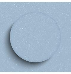 Glass frame Snow falling Eps 10 vector