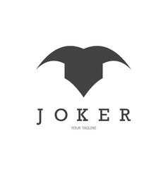Joker logo vector
