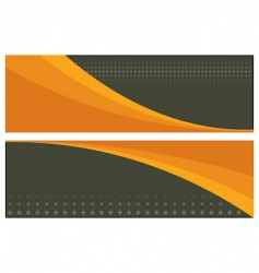 Abstract banners headers vector