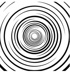 Abstract swirl twirl spiral element rotating vector