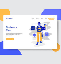 businessman concept vector image