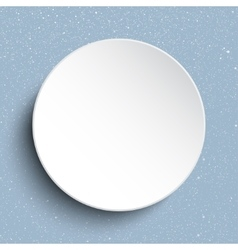 frame on a background of snow Eps 10 vector image