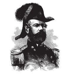 General fitzjohn porter vintage vector