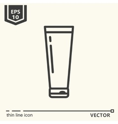Hairdressing tools Icons series Container vector