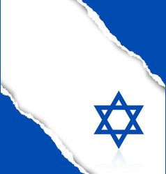 Israeli background vector