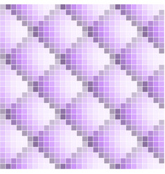 purple abstract seamless pixel pattern vector image