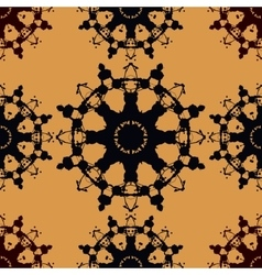 Seamless Pattern Based on Rorschach inkblot test vector