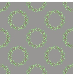 Summer Green Seamless Leaves Pattern vector