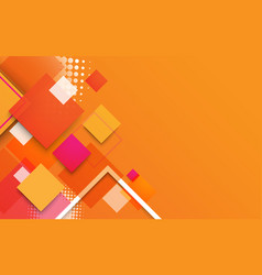 abstract geometric shapes and colorful banner vector image