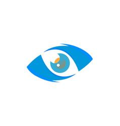 eye optic logo vector image