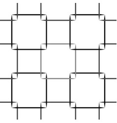 seamless squares pattern beautiful eps10 vector image