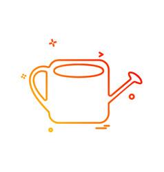 shower icon design vector image