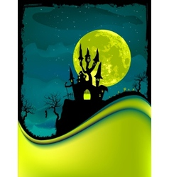 dark scary halloween night EPS 8 vector image vector image