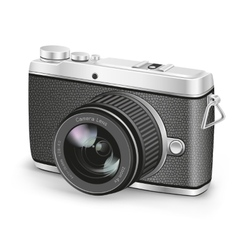 amateur camera vector image