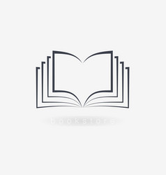 Book icons sign for your company vector