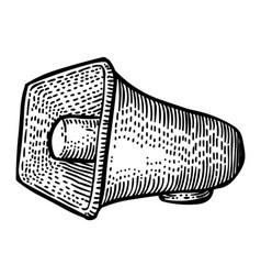 cartoon image of siren icon alarm symbol vector image