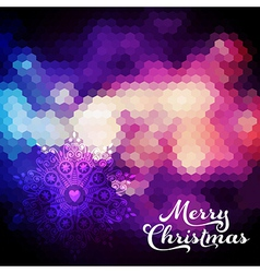 Christmas background Christmas ball Retro backdrop vector