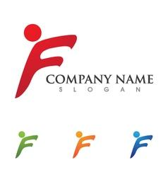 Healthy Logo Template vector image