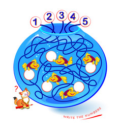Math education for children find path vector