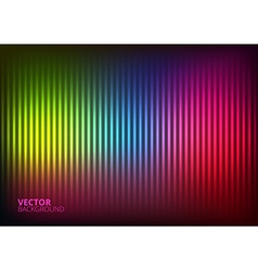 a Colored Music Equalizer vector image vector image