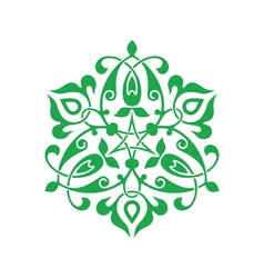 Arabesque decor vector