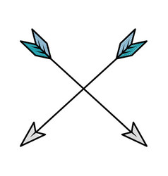 arrows icon image vector image