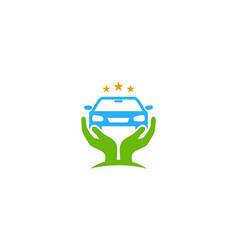 automtoive care logo icon design vector image