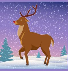 beautiful christmas background vector image
