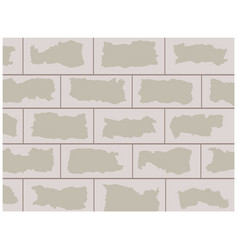 concrete wall background vector image