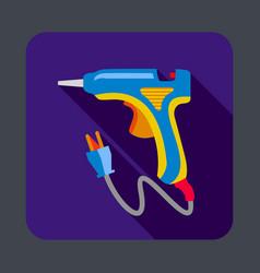 Electric glue tool concept background cartoon vector