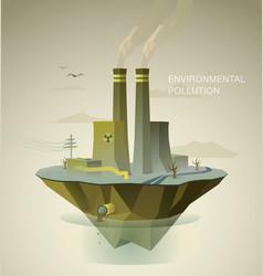 Enviromental polution vector