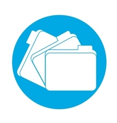 File folder icon image vector