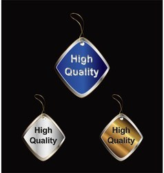 High Quality tag vector