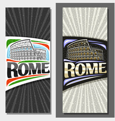layouts for rome vector image