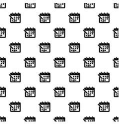 mark calendar icon simple style vector image