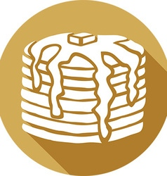 Pancakes Icon vector