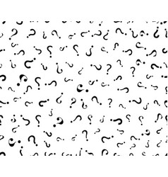 question marks seamless vector image