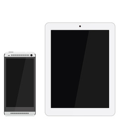 Smartphone and tablet vector image