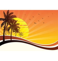 Summer background2 vector image