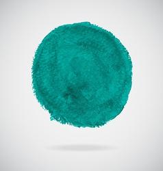 Watercolor circle vector