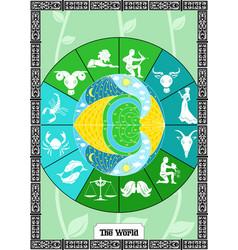 world card vector image