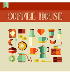 Coffee House concept vector image vector image